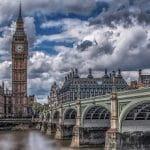 Una veduta di Londra