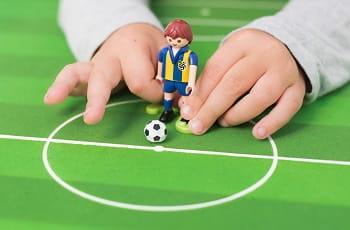 Un omino per giocare a calcio simulato