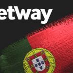 Il logo di Betway e la bandiera del Portogallo