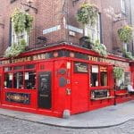 Un tradizionale pub irlandese