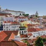 Uno scorcio di Lisbona
