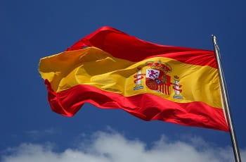 La bandiera della Spagna