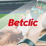 Uno smartphone connesso a un sito scommesse e il logo di Betclic