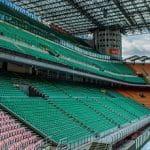 Lo stadio Giuseppe Meazza a Milano