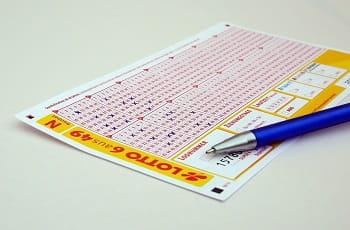 Una schedina per il lotto