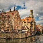 Una veduta di Bruges, in Belgio