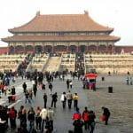 Una veduta della Città Proibita di Pechino