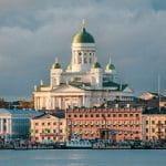 Una veduta della cattedrale di Helsinki, in Finlandia
