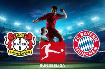 I loghi di Bayer Leverkusen, Bundesliga e Bayern Monaco