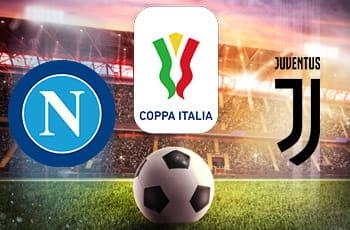 I loghi di Napoli, Juventus e Coppa Italia