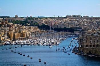 Una veduta di Malta