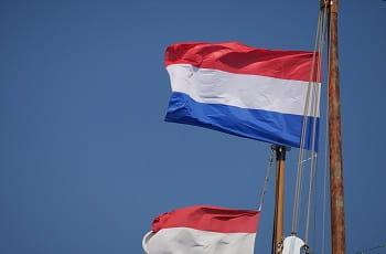 La bandiera dell'Olanda