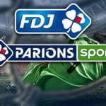 I loghi di FDJ e ParionsSport