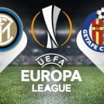 I loghi di Inter, Getafe ed Europa League