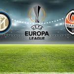 I loghi di Inter, Shaktar Donetsk e Europa League