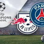 I loghi di Lipsia, Paris Saint-Germain e Champions League