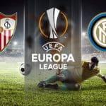 I loghi di Siviglia, Inter ed Europa League