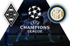 I loghi di Borussia Mönchengladbach, Champions League e Inter