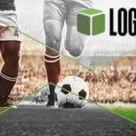 Il logo di LOGiCO e due calciatori in azione
