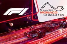 I loghi della Formula 1, del G.P. di Monaco e una monoposto