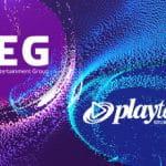 I loghi di Playtech e Fortuna Entertainment Group