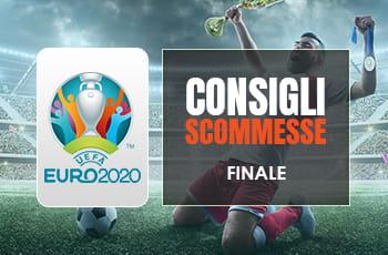 Pronostici finale Euro 2020: consigli scommesse